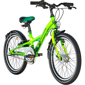 s'cool XXlite 20 3-S steel Kinder neon green
